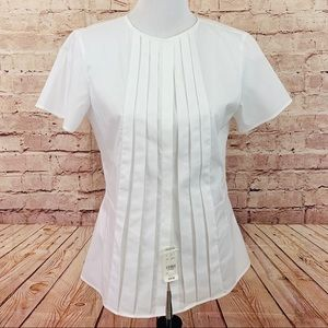 NWT brooks brothers white blouse